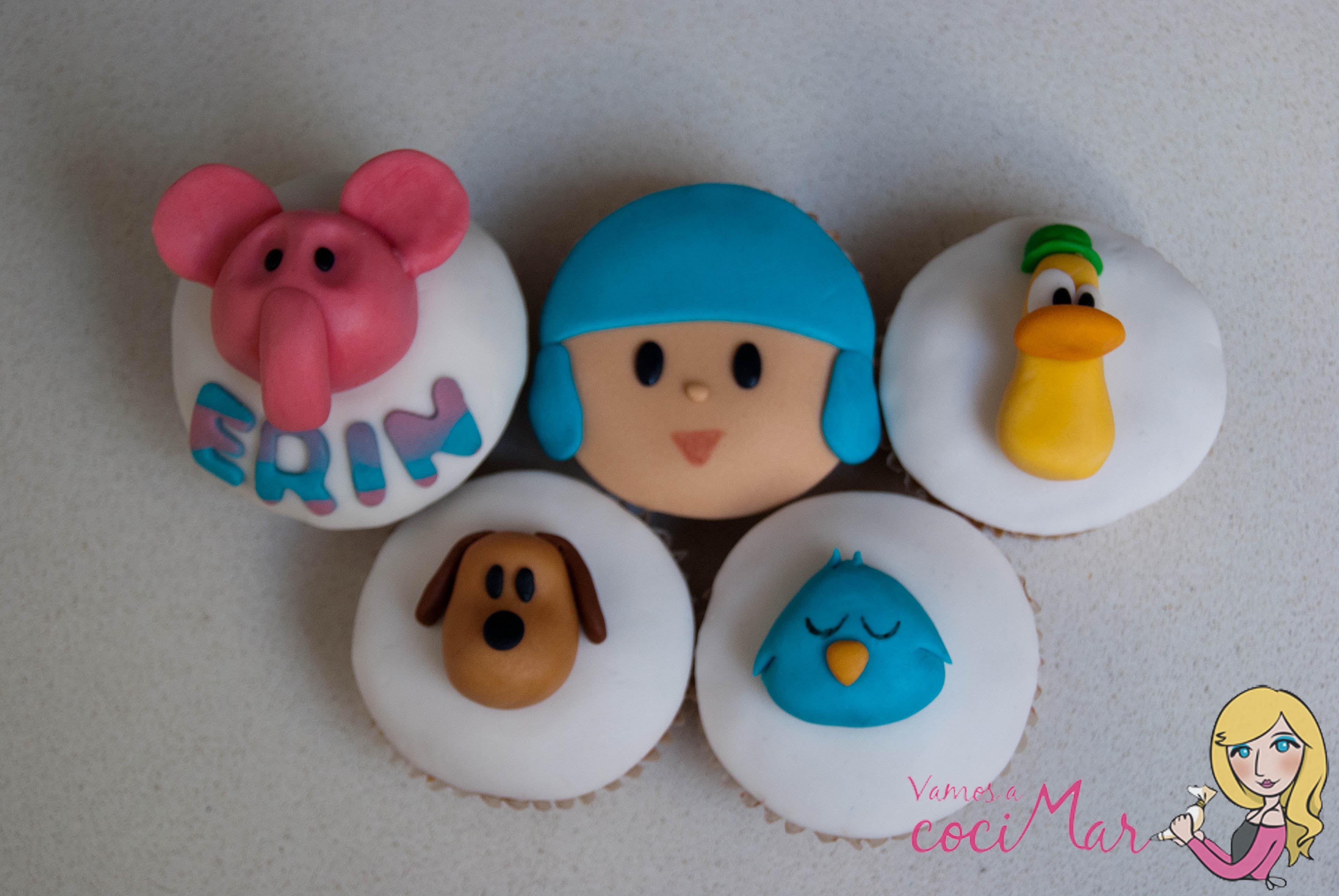cupcakefondantpocoyo