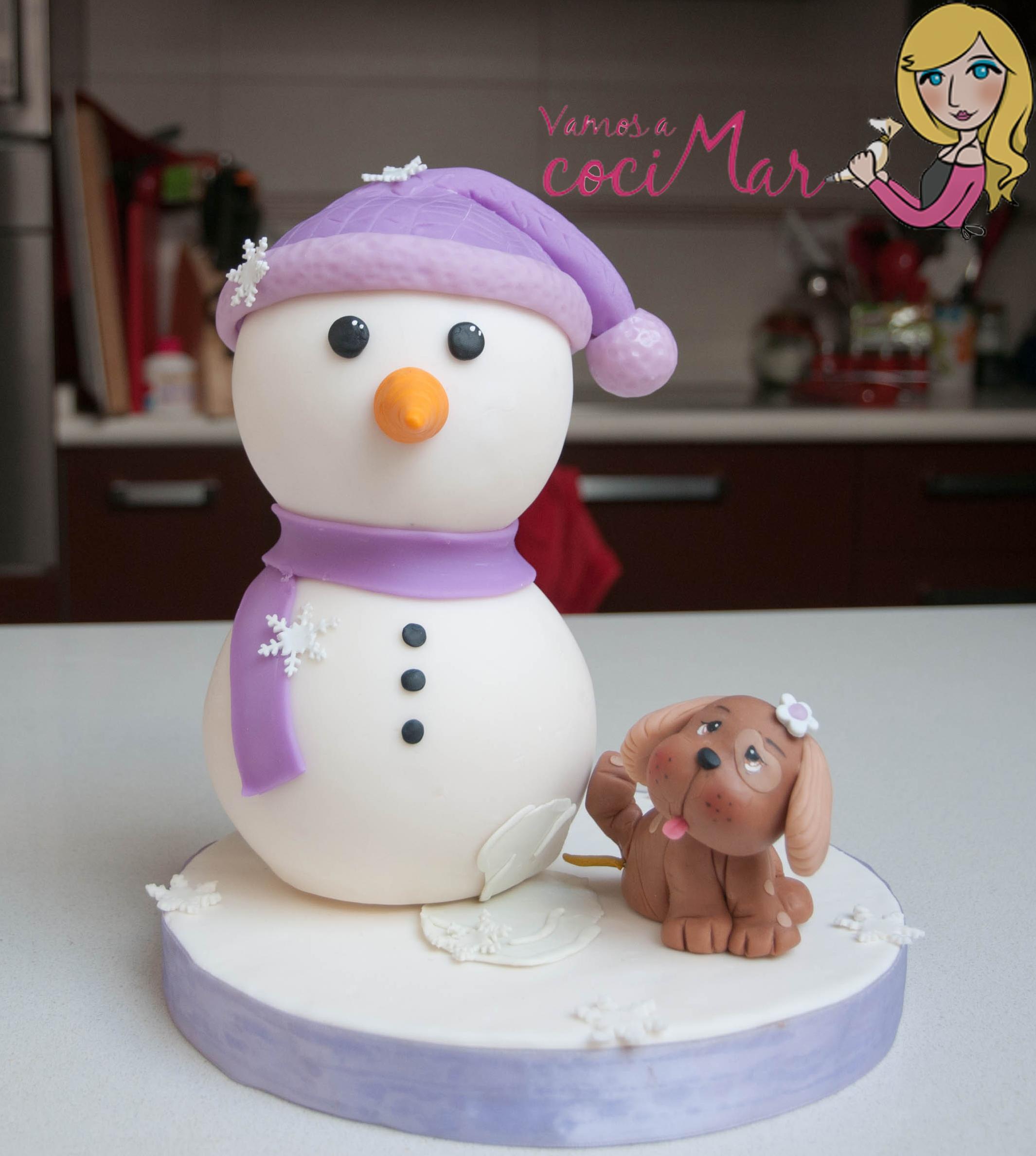Cake De Fondan De Navidad
