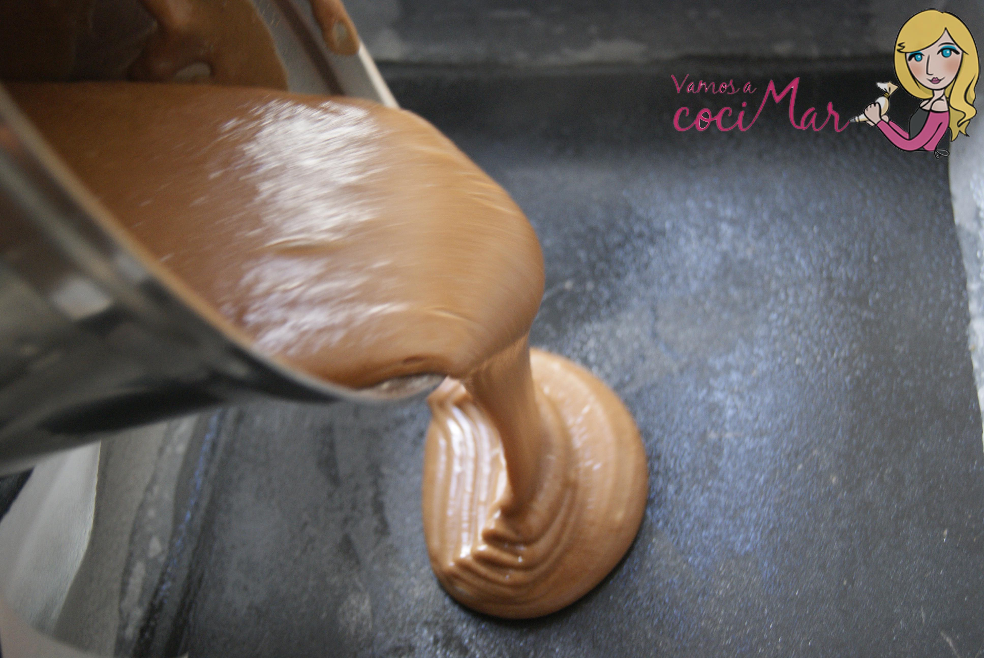 Bizcocho galletas chocolate