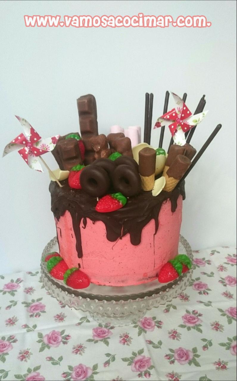 tarta-drip-cake-cumpleaños