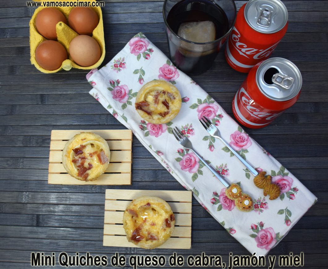 receta-mini-quiches-queso-cabra-jamon-iberico-miel
