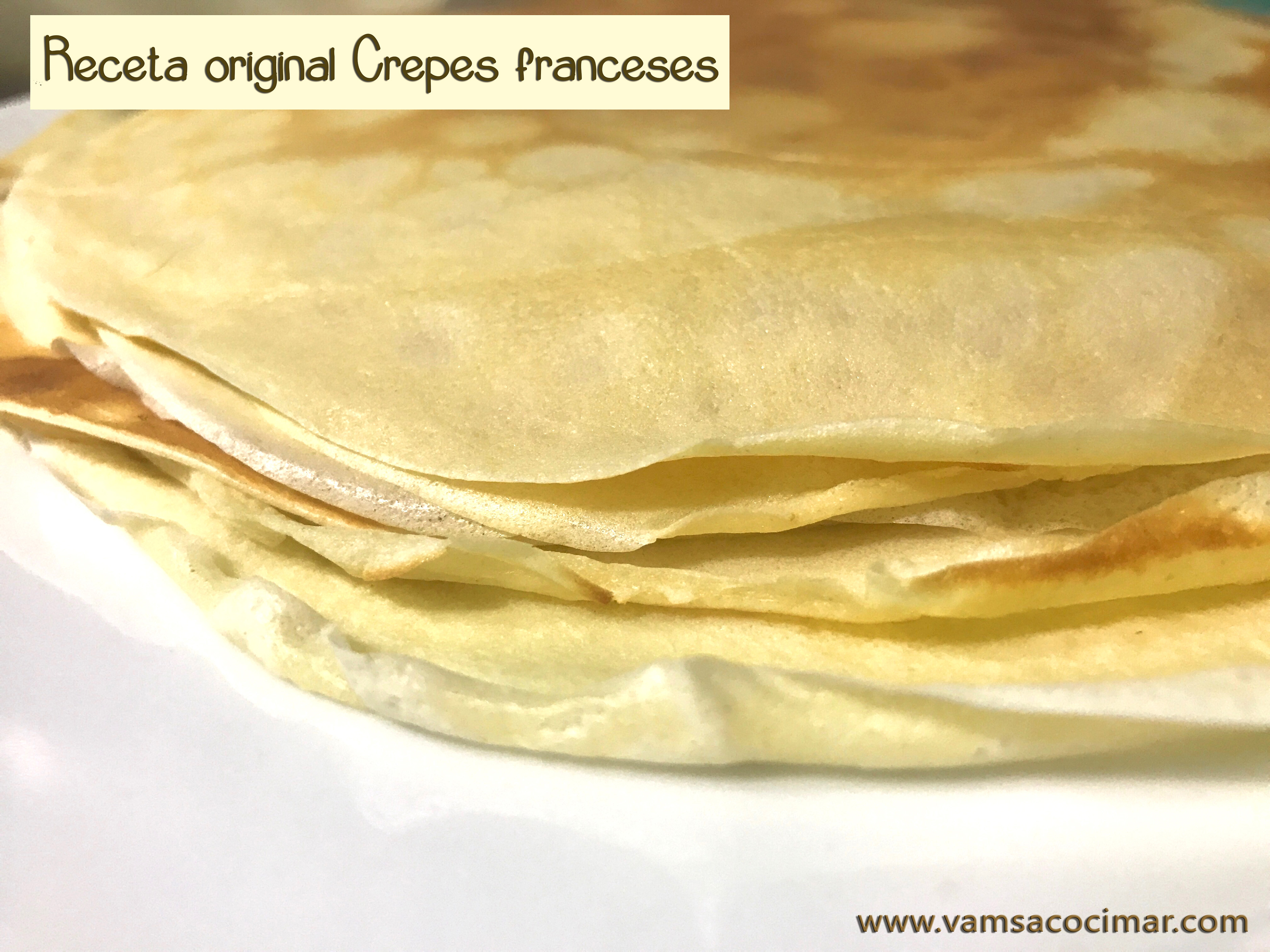 receta crepes original