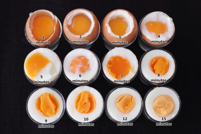 como hacer huevo duro