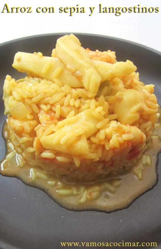 receta-arroz-con-sepia-y-langostinos-rico-fácil
