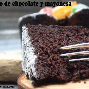 bizcocho-chocolate-y-mayonesa