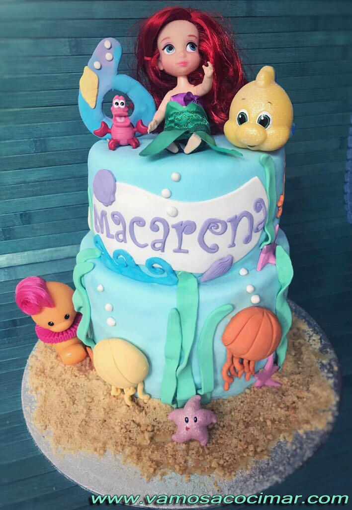 tarta-fondant-cumpleaños-cadiz-sirenita