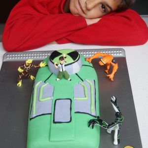 tarta-fondant-ultimatrix-ben-10