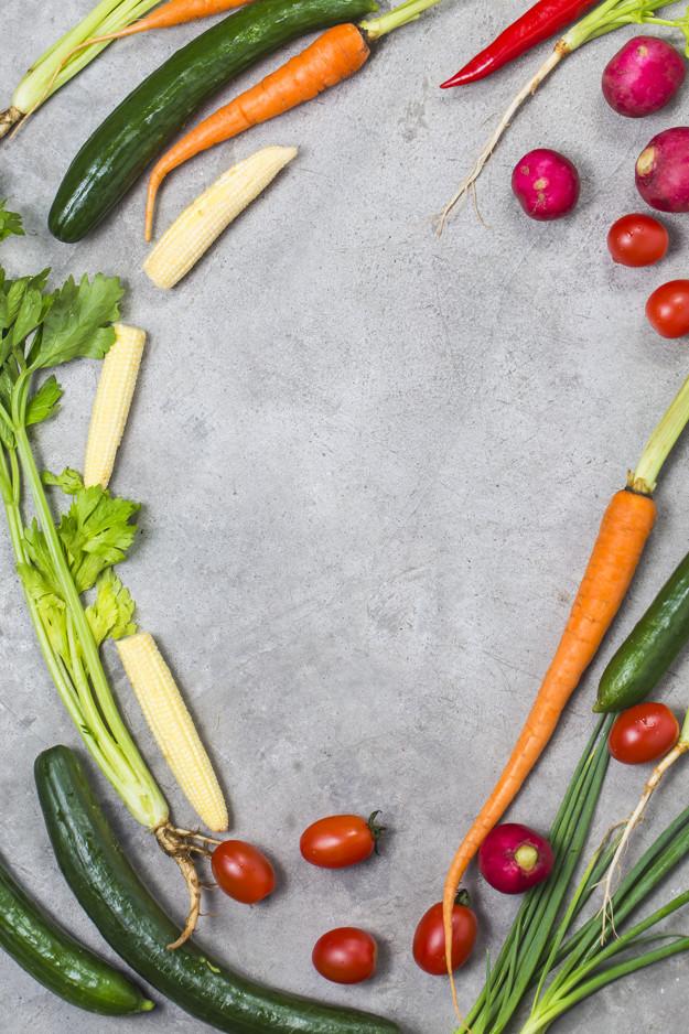 verduras y frutas congelar
